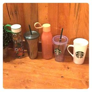5 cup Starbucks bundle collection